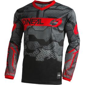 O'Neal Element Jersey Ragazzi, nero/rosso